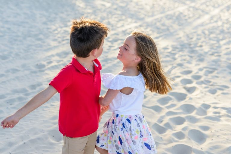Noosa Beach Family Photography Sunset Session