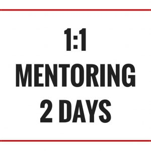 1:1 Photography Mentoring with Elise Gow - 2 Days